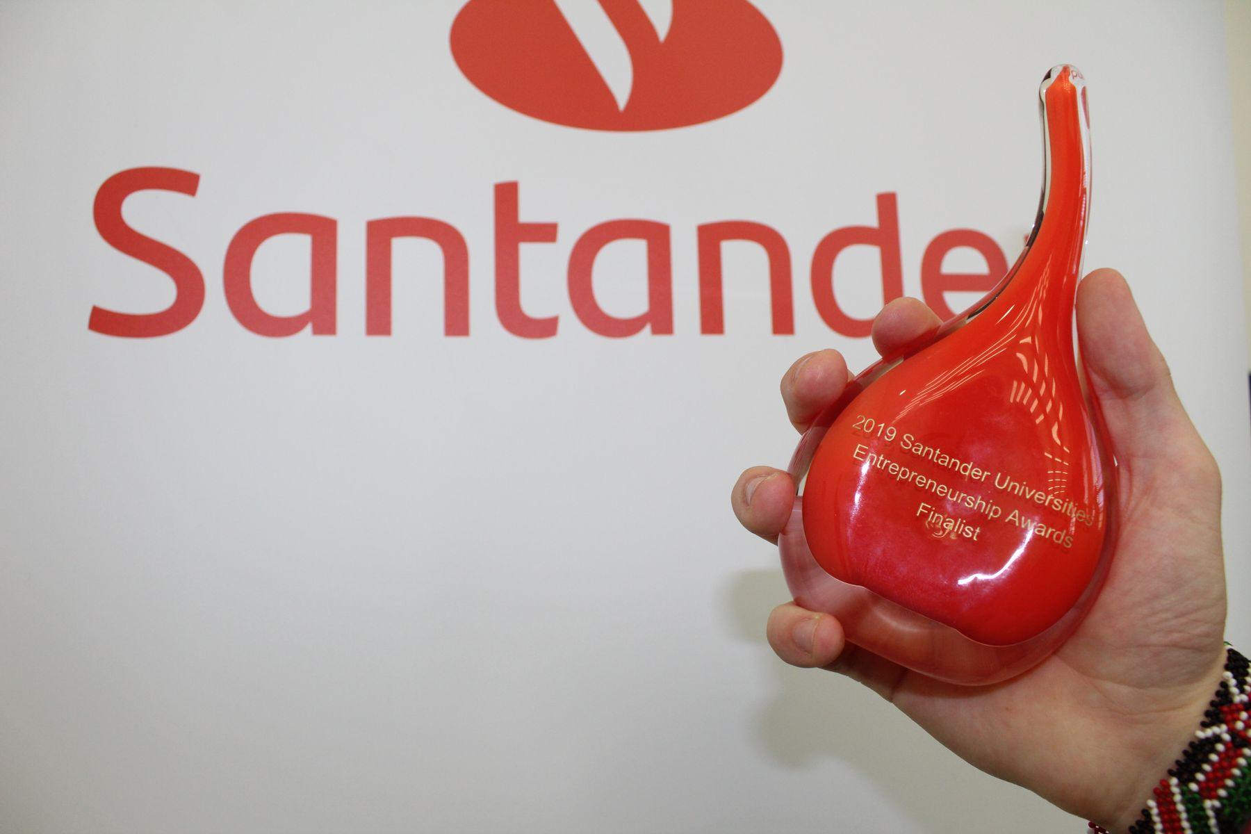 Santander award 2019