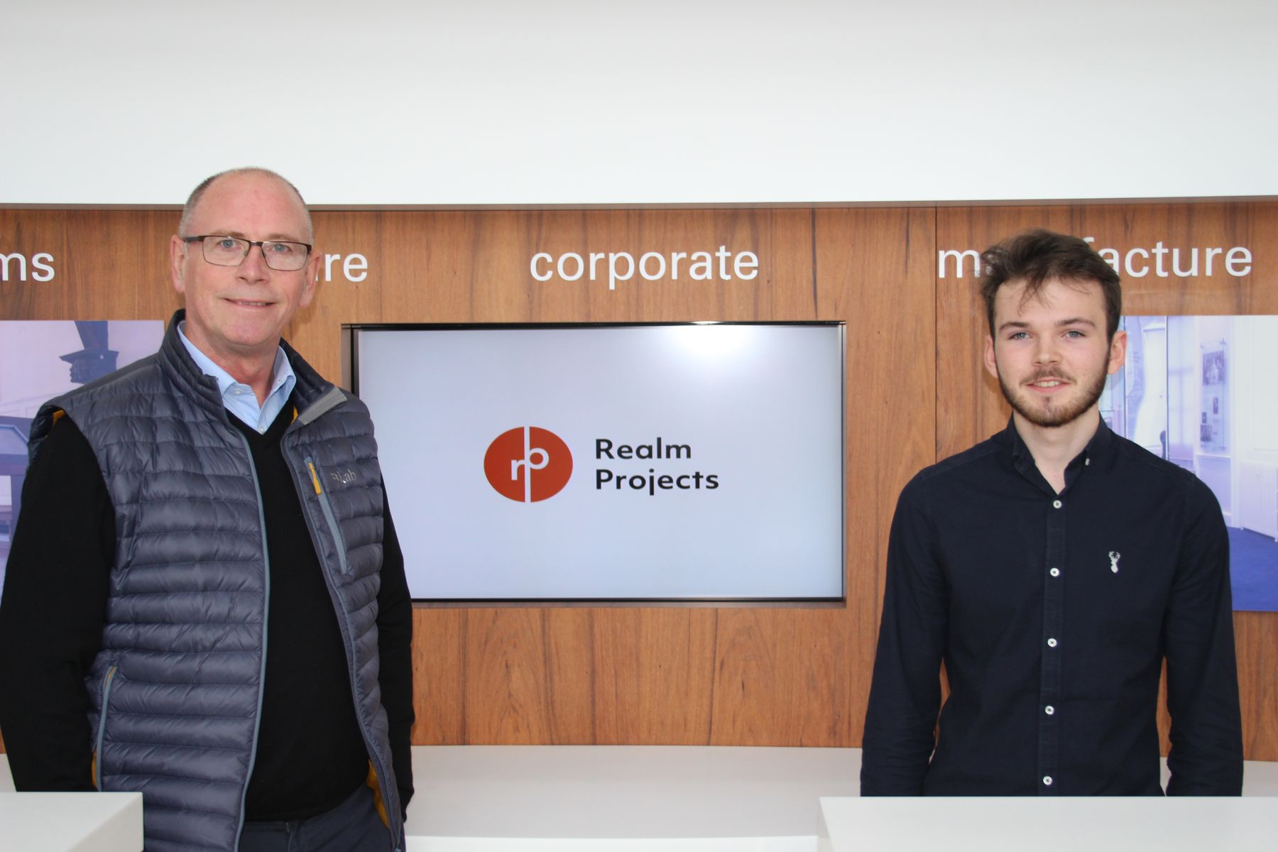 Graeme-Blakey and Sam Hickling from Realm Projects