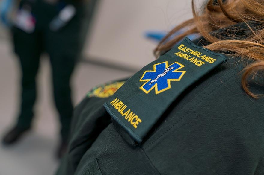 Ambulance Technician's shoulder badge