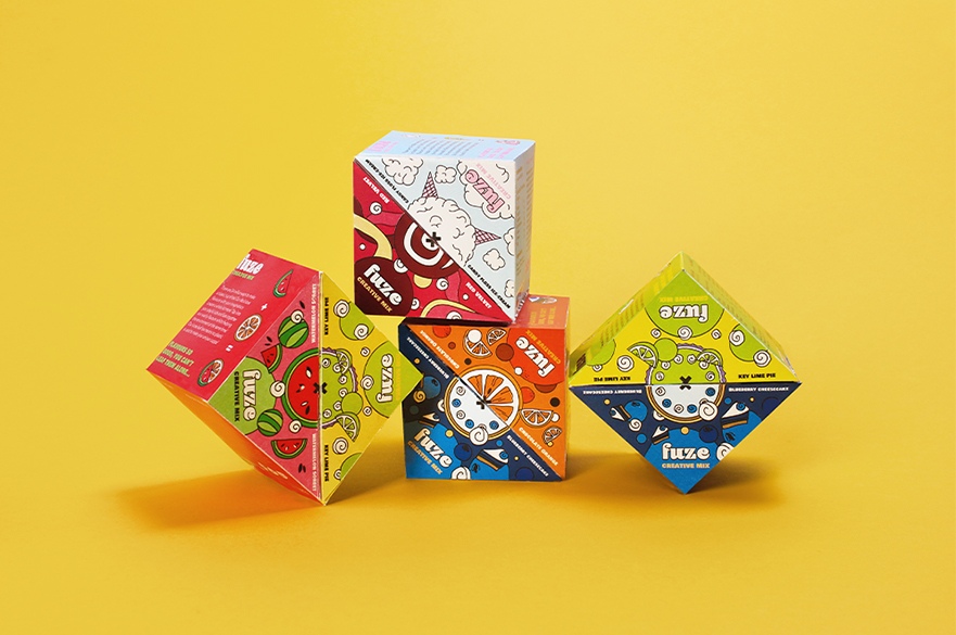 Work by Alice Stone - Packaging 'Fuse'