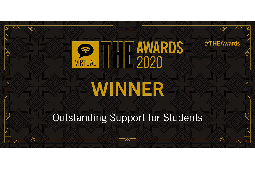 Outstanding support for students award