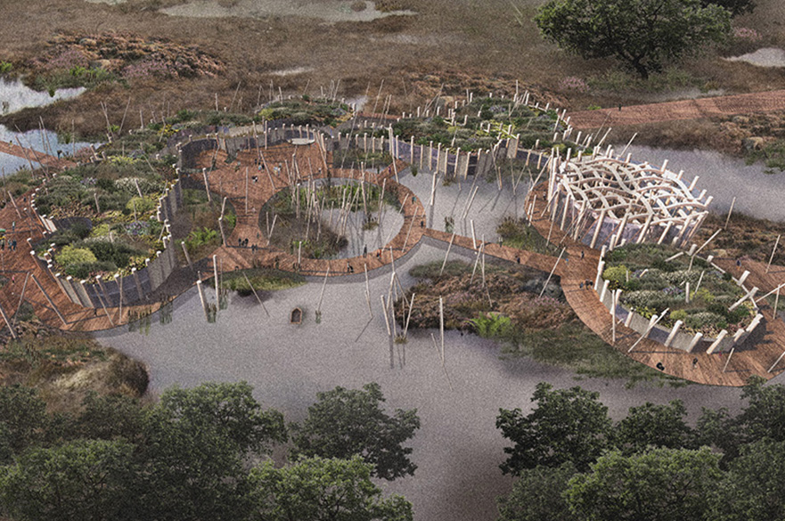 A Place to Grow by BArch (Hons) Architecture student, Maddie Rutherford-Browne