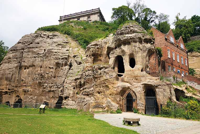 Nottingham caves