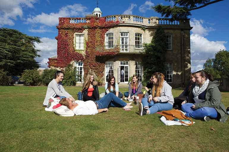 Students at NTU's Brackenhurst campus