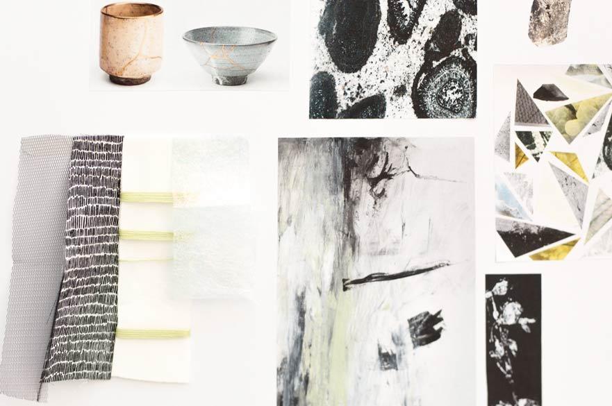 Emily Rowland textile work