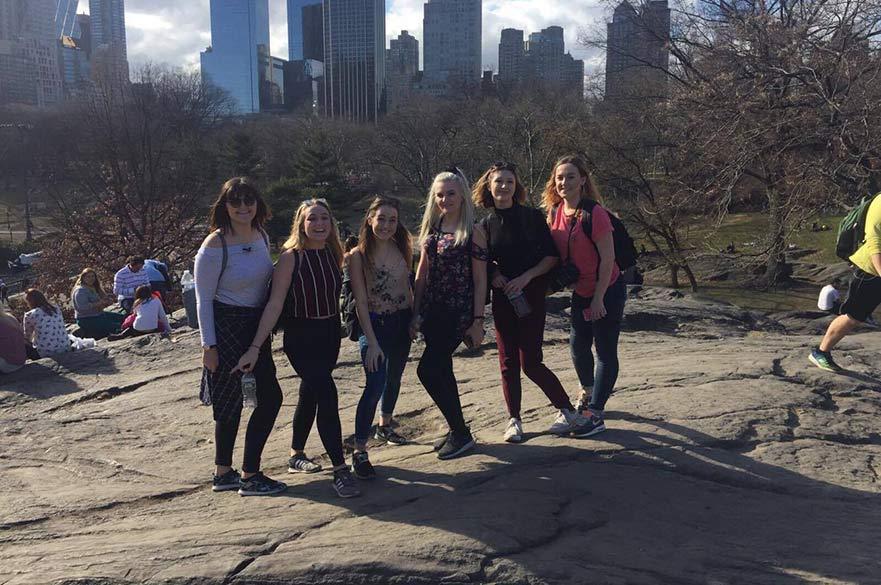 Fine Art students in America