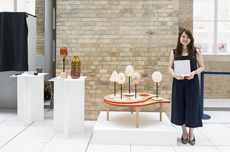 Fumi Shimomura, BA (Hons) Decorative Arts, CSD Award winner 2017