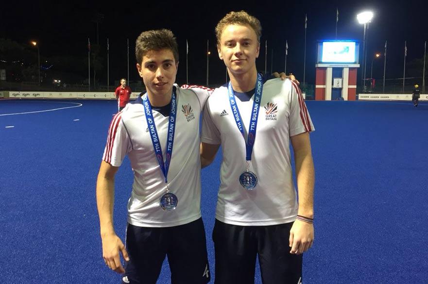 Alex Blumfield & Gareth Griffiths in GB kit