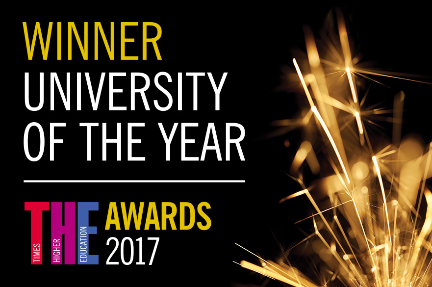 THE Winner University of the Year