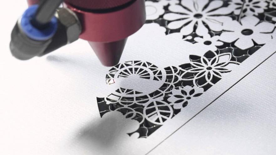 laser cutter card