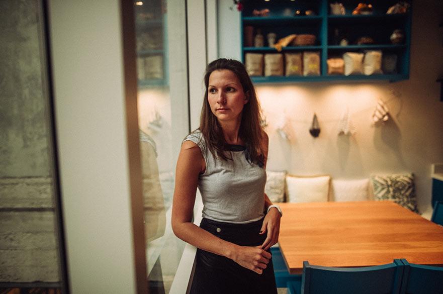 Katrin Schmidt - photograph by André Josselin