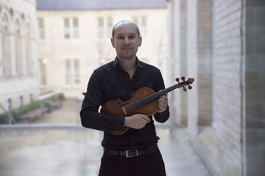 Rob Rosa, NTU violin teacher