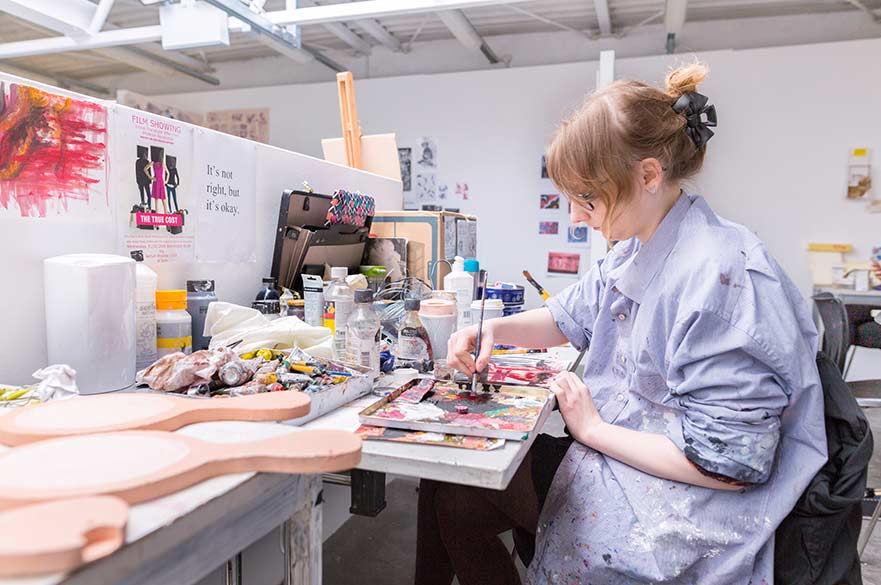 Art and Design individual studio space