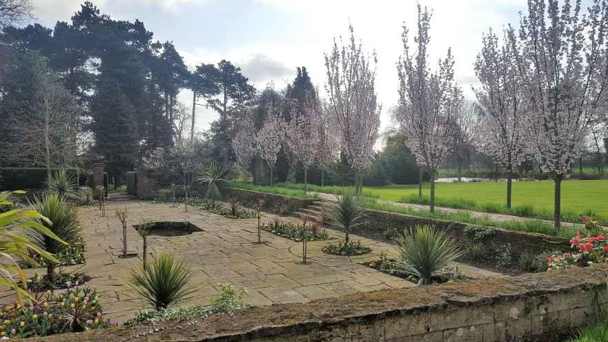 Brackenhurst's sunken garden