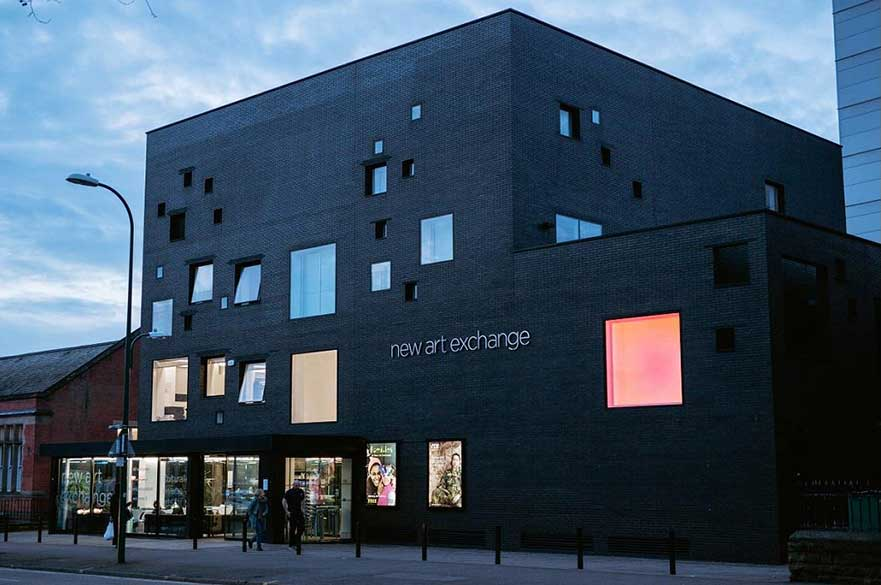 New Art Exchange. Image courtesy Visit Nottinghamshire