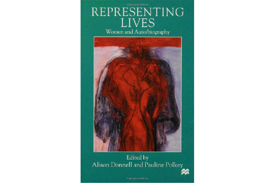 Book cover for Representing Lives Women and Auto/biography