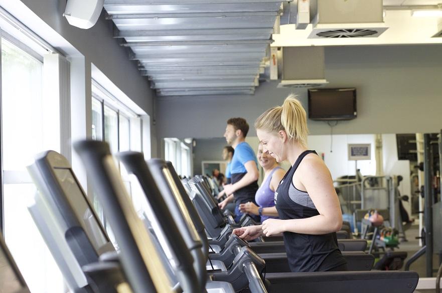 females on treadmill