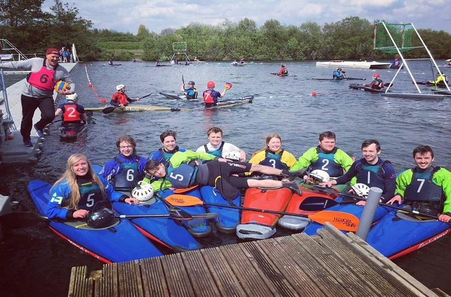 Image of NTU canoe players