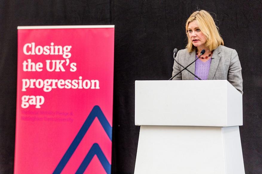 Justine Greening MP visits NTU