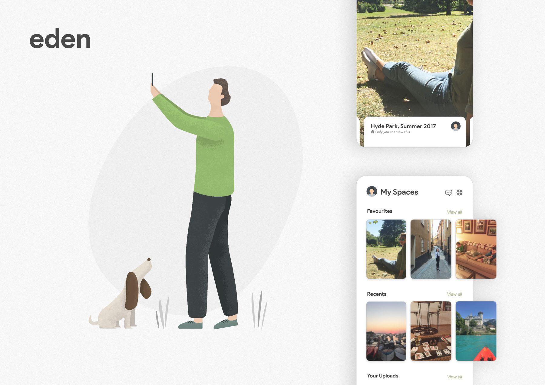 From Eden, Christian Martin, BA (Hons) Graphic Design 2019.