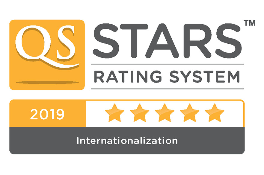 QS Stars Internationalisation 2019