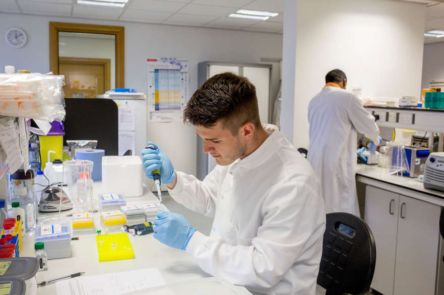 John Van Geest Research Centre Work