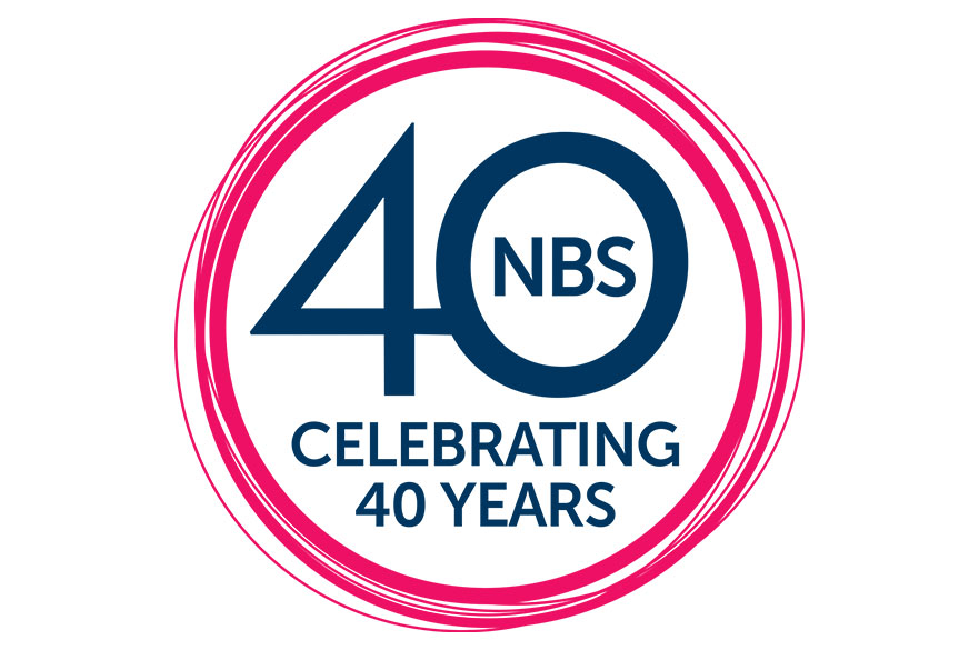 NBS 40 logo