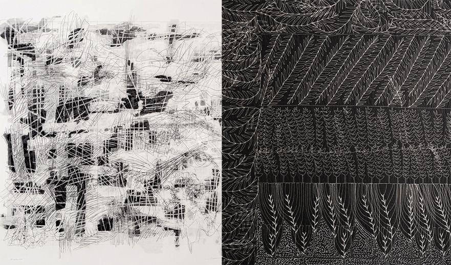 Pauline Burbidge Charles Poulsen Two Images of Artwork