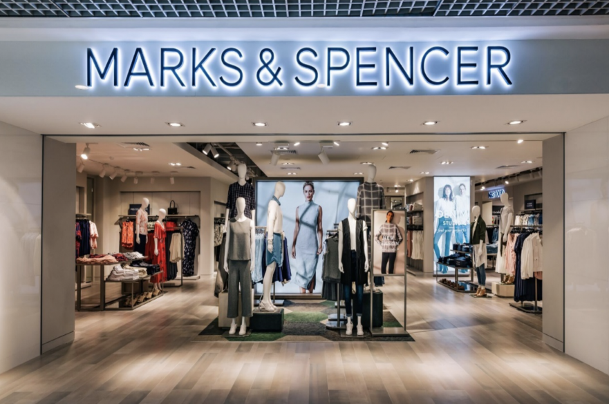 Marks and Spencer shop front