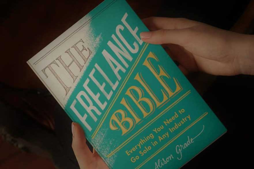image of freelance bible book