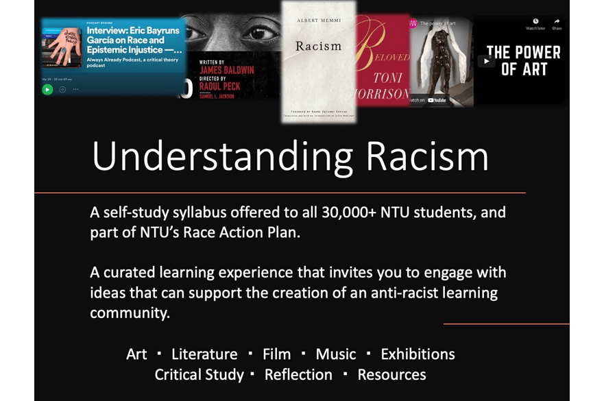 Understanding Racism is a self-study syllabus for students