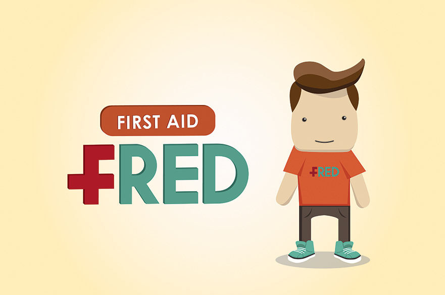 First Aid Fred design