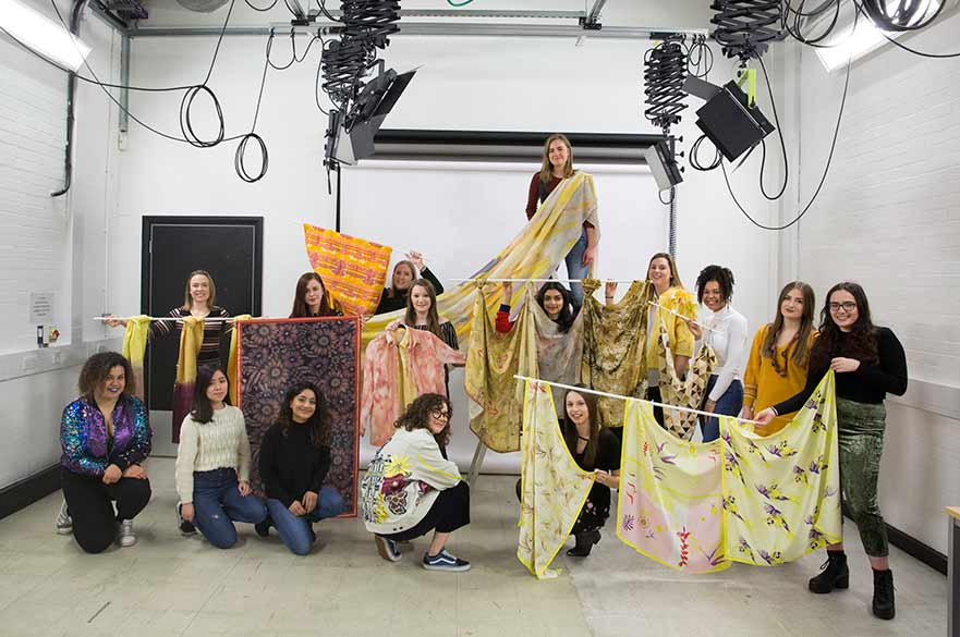 SPINEXPO textile students