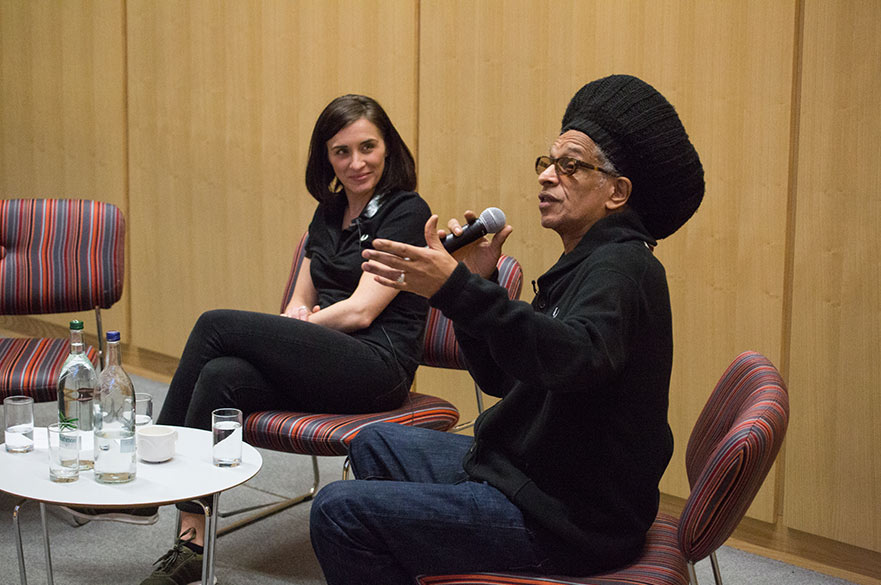 Don Letts and Vicky McClure