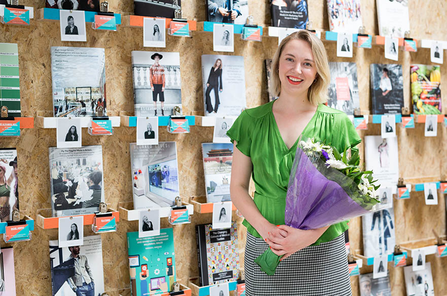 Elizabeth Ball, BA (Hons) Fashion Management, Idleman menswear placement 2017