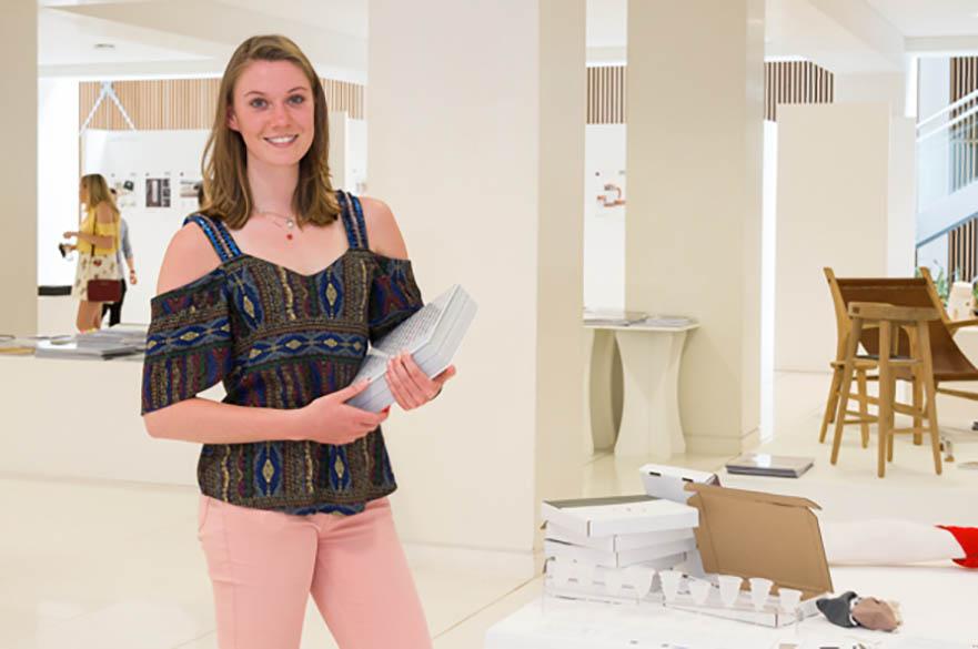 Hannah Manley, BA (Hons) Product Design, CSD Award winner 2017