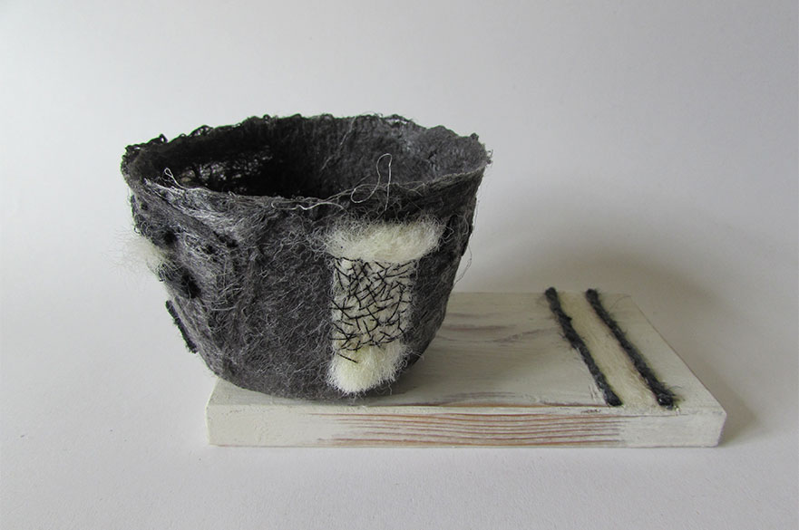 Objects made by student Denise Coupland