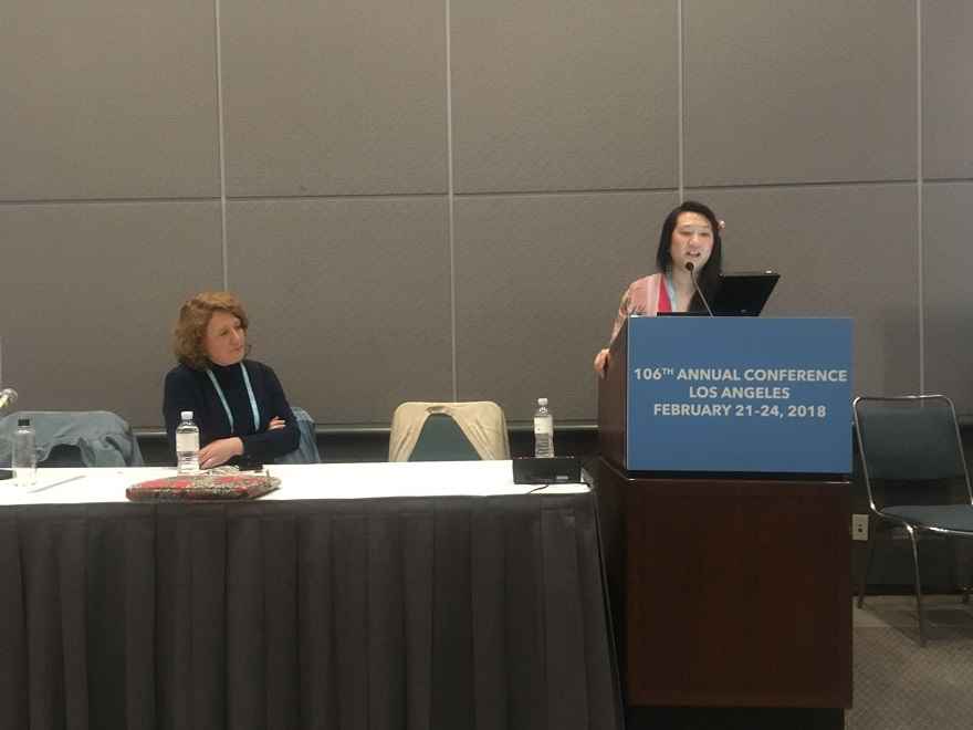 Product Design Senior Lecturer Dr Hui-Ying Kerr, recently chaired the Design History Society Affiliated Panel at the College Art Association (CAA) 106th Annual Conference in Los Angeles.