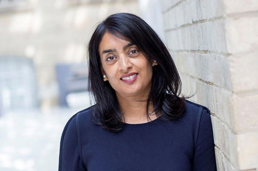 Rashmi Patel, head of HR Operations at NTU