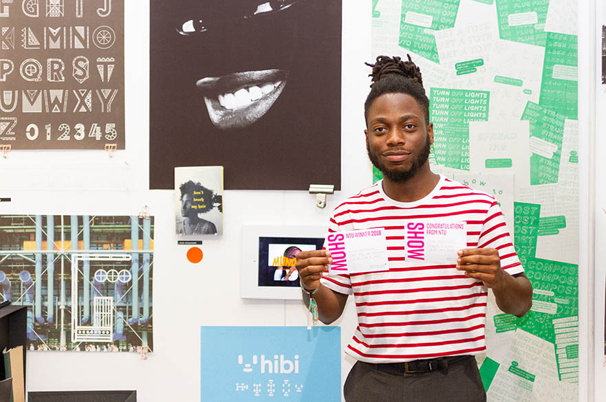 Jude Amponsah, BA (Hons) Graphic Design, D&AD New Blood 2018