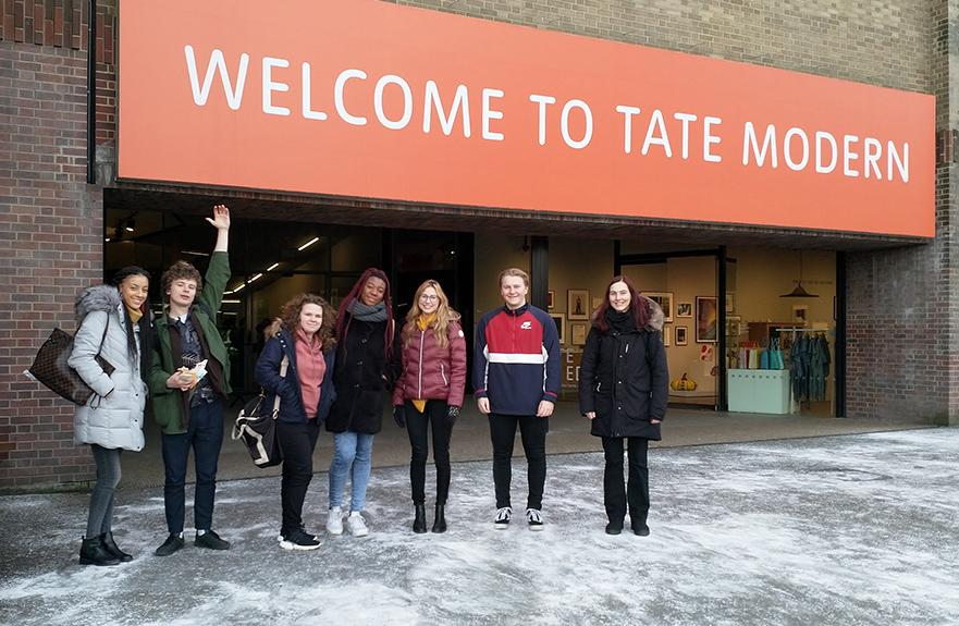 German Tate Modern Trip