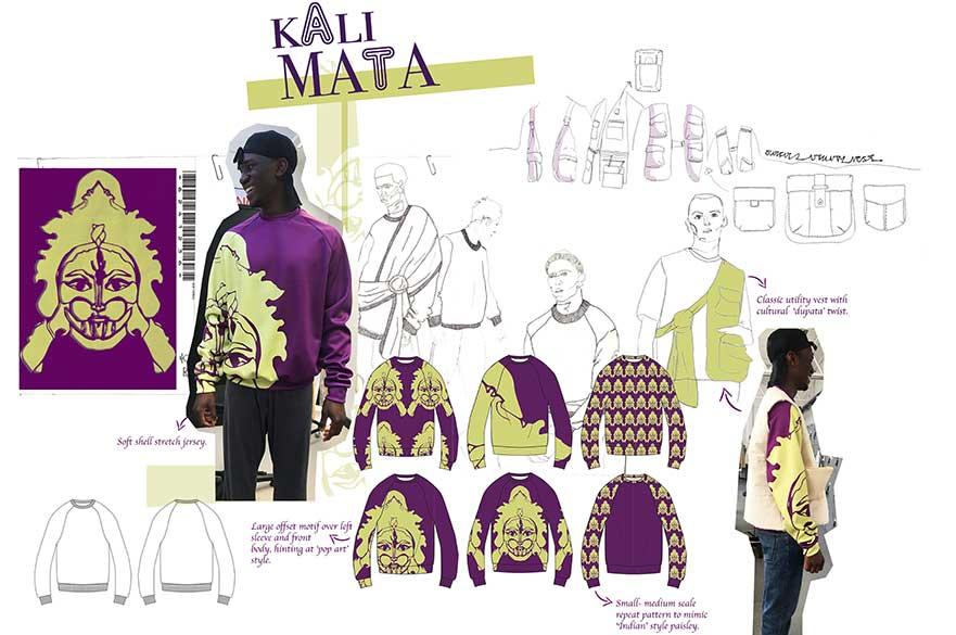 From God's Own Junkyard, Alisha Kumar, BA (Hons) Fashion Design, 2019.