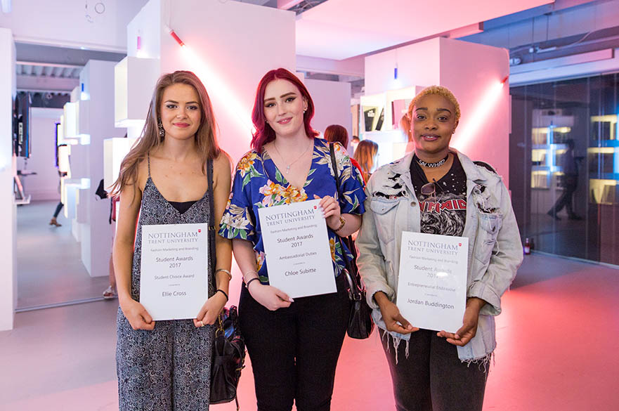 BA (Hons) Fashion Marketing and Branding, commended students 2017