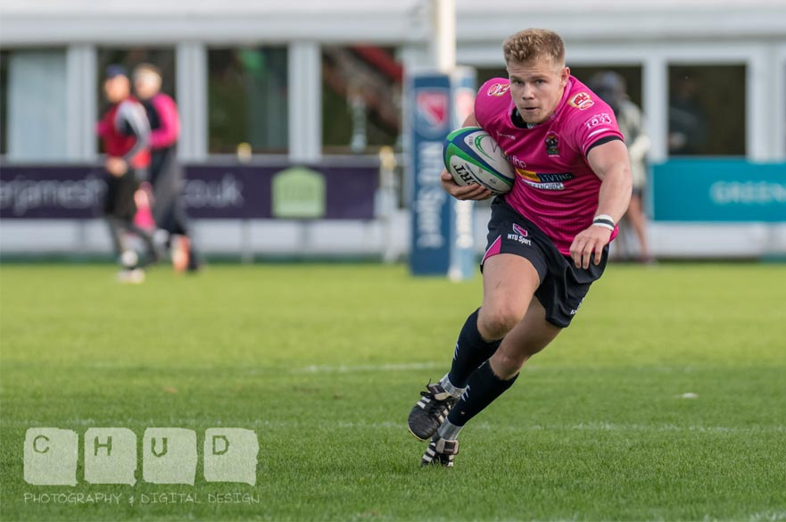 NTU in action in the BUCS Super Rugby