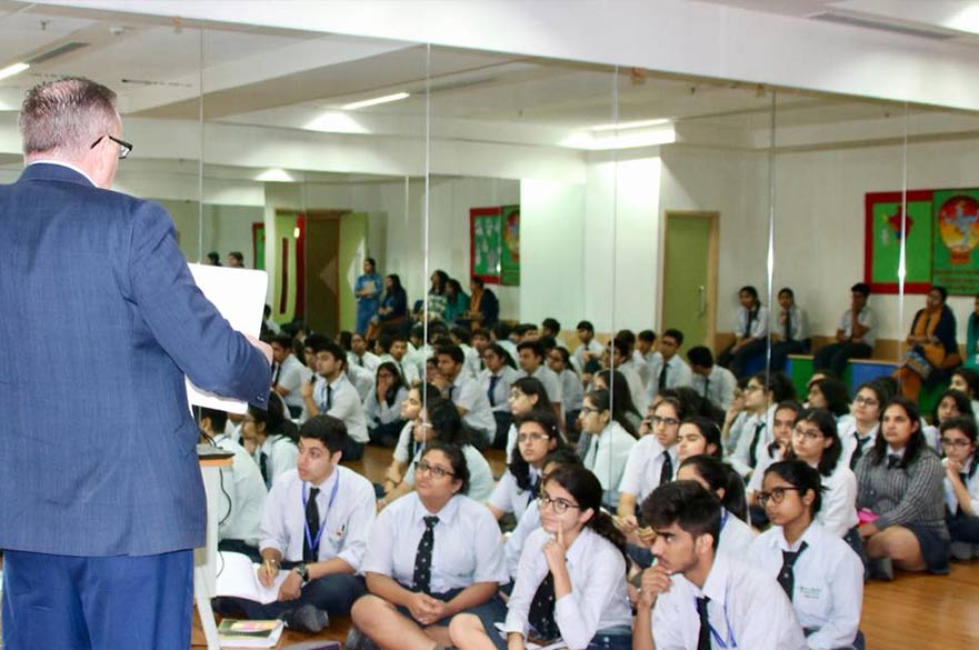 Lotus Valley School visit in India