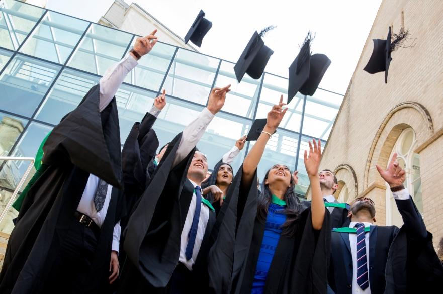 Students graduating from NTU