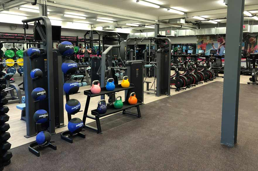 The Clifton gym is now re-open after a full refurbishment over the Christmas period