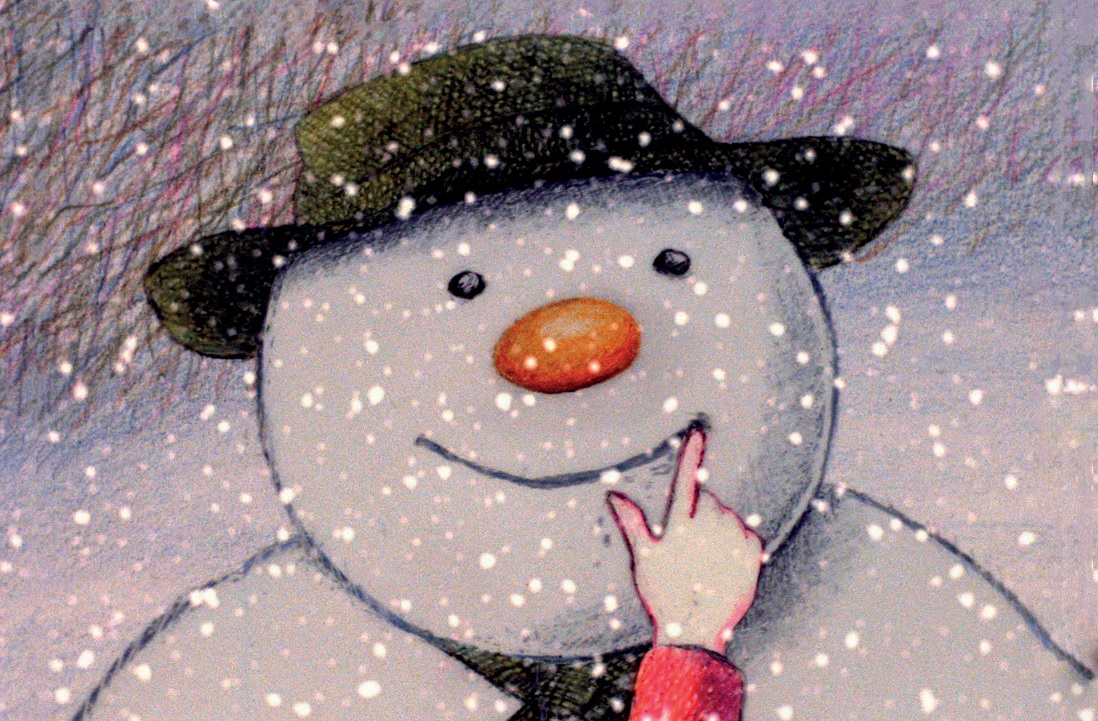 Illustration of snowman
