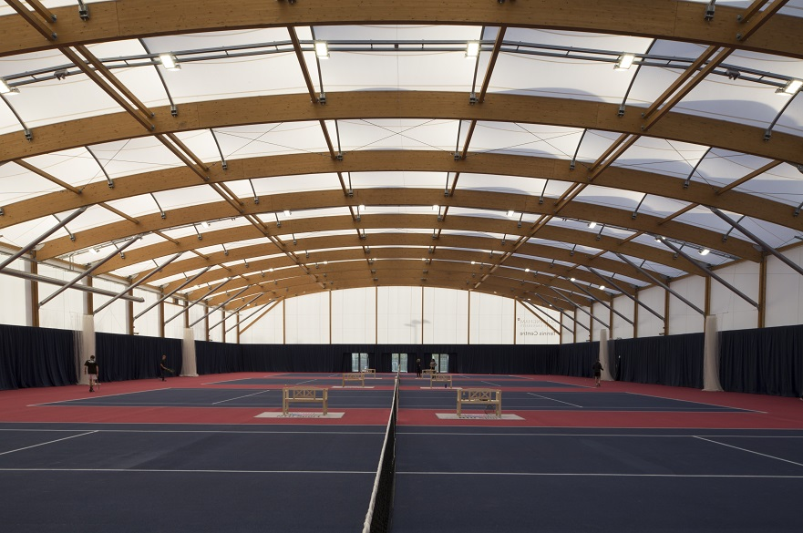 Tennis Centre inside
