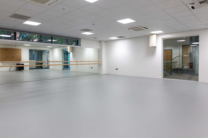 University Hall dance studio